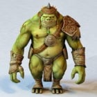Pig-faced Orc Warrior