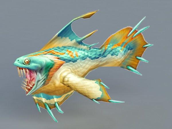 سمكة البيرانا الوحش