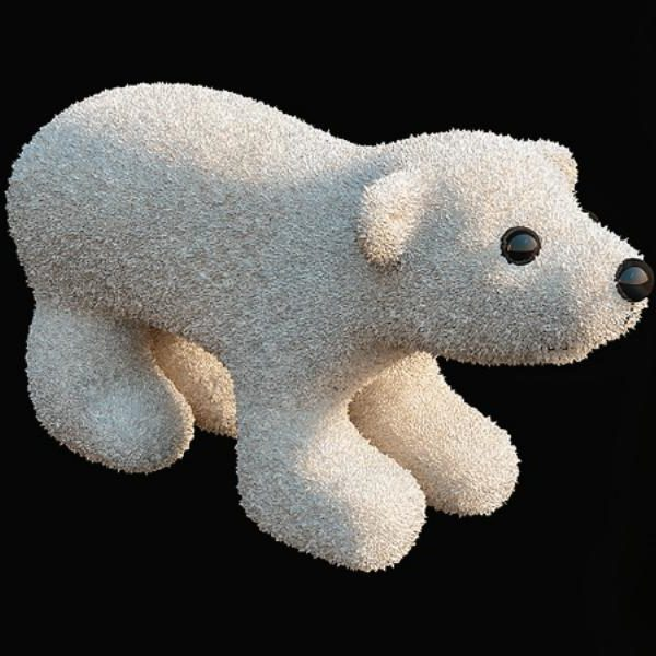 Plush Toys Polar Bear