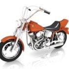 Power Cruiser Motorcycle
