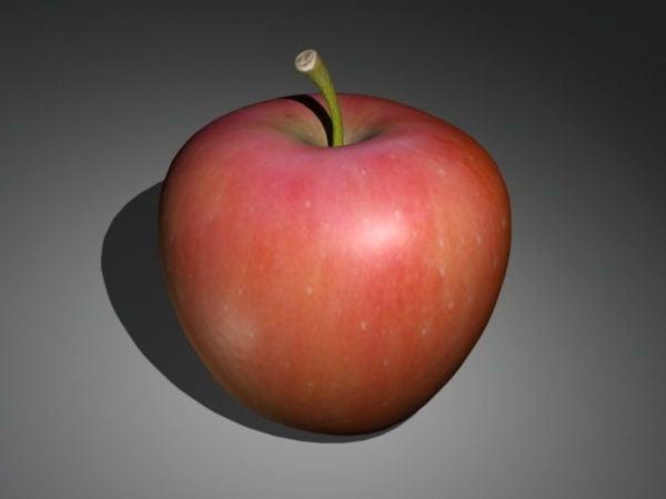 تفاحة حمراء