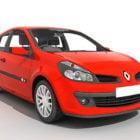 Renault Clio Car Red