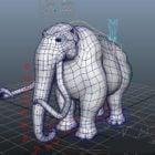 Rigged Elephant Mammoth