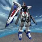 Rigged Gundam Robot Character