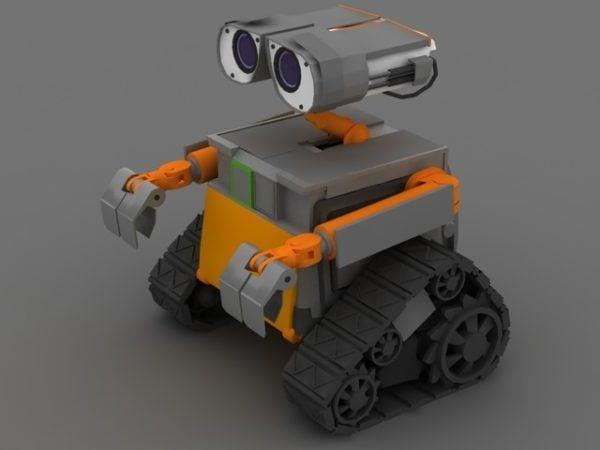 Robot Wall-e Carácter
