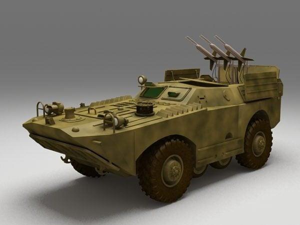 الروسية Brdm-1 المدرعة الكشفية سيارة