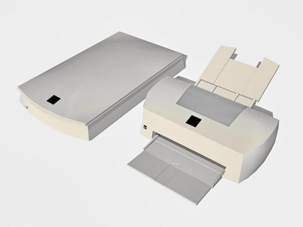 Escáner e impresora
