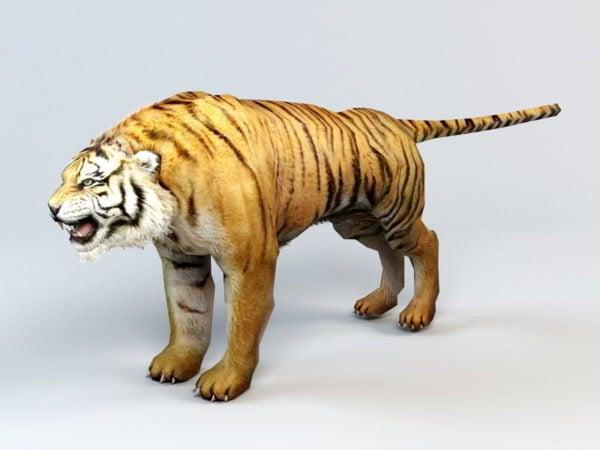 Tigre miedo