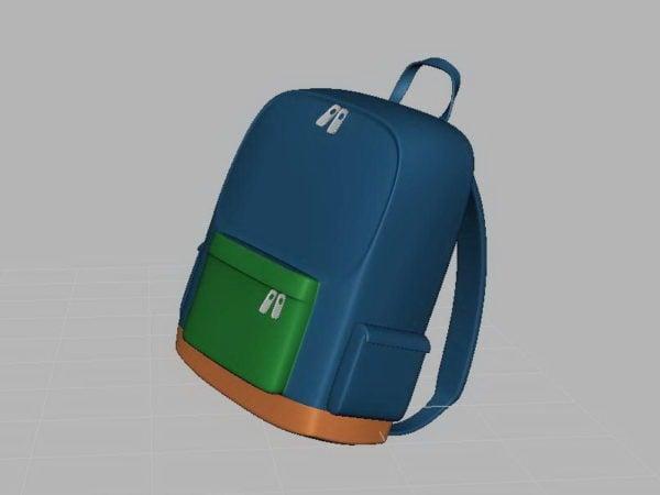 Schultasche Schulranzen Kostenloses 3d Modell Open3dmodel 110992