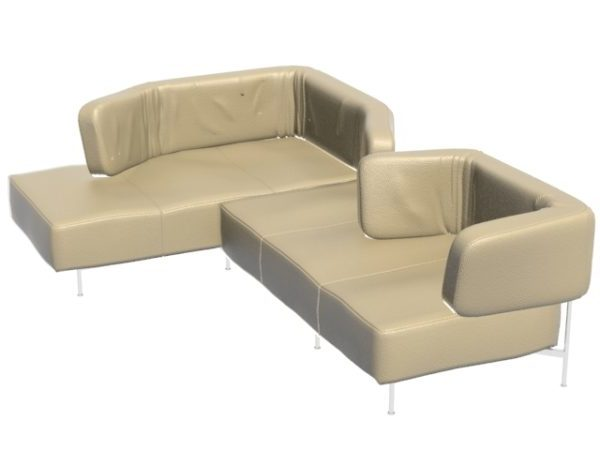Sectional Leather Sofa Daybed Free