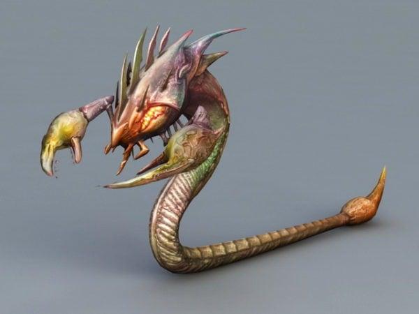 Serpiente Escorpión Monstruo