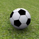 Otlakta futbol topu