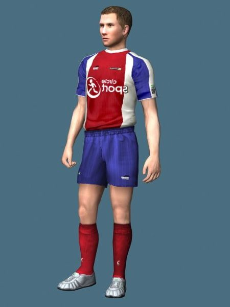 Soccer Player Rigged Character