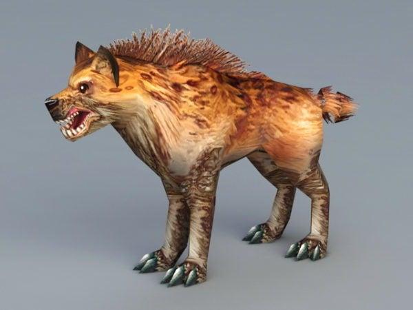 Täplikäs Hyena