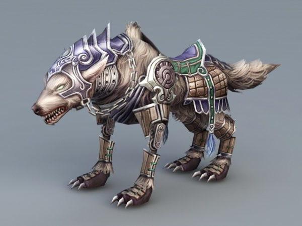 Steampunk Wolf Rig