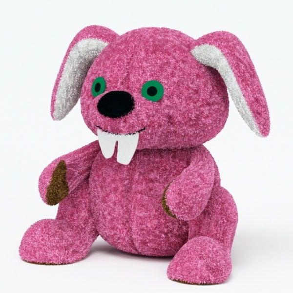 Täytetty kanin lelu