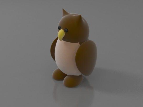 Täytetty lelu lintu