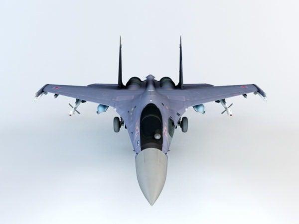 Aviones de combate Flanker Su-27