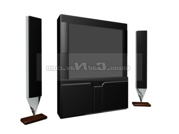Room Television And Speakers Device