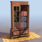 Thomas Chippendale Stili Kitaplık