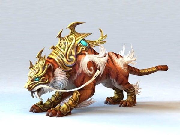 مخلوق النمر الأسطوري