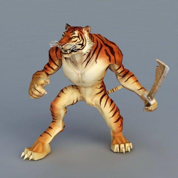 نمر المحارب بالسيف