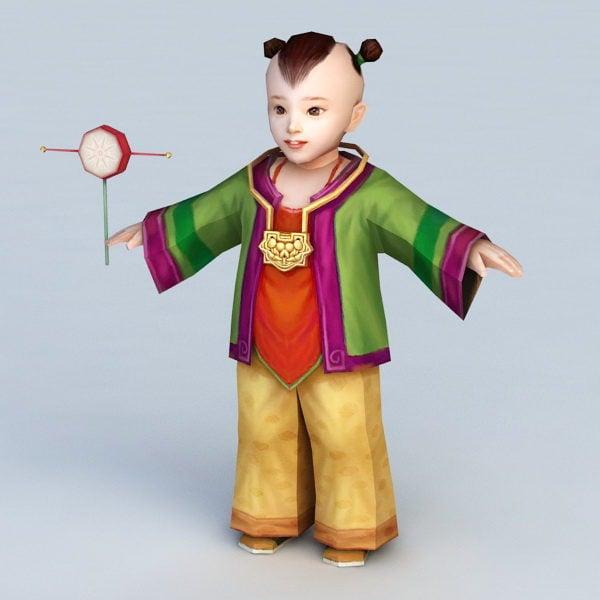 الصبي الصيني التقليدي