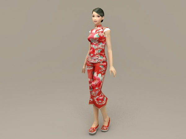 Traditional Chinese Woman