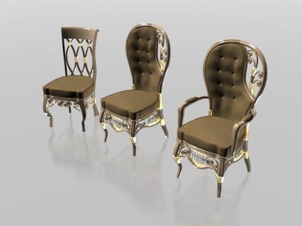 Pehmeä klassinen tuoli