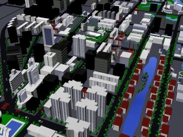 Zona de residencia urbana