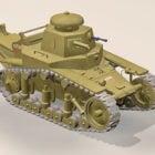 Ww2 T-18 Light Tank