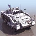 Krieger Manöver Kampffahrzeug