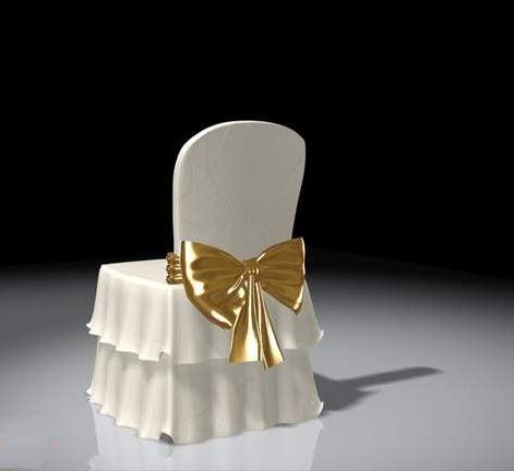 كرسي استقبال الزفاف