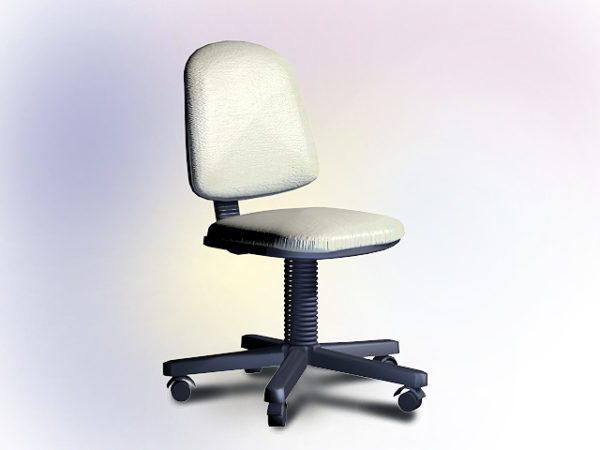 White Swivel Desk Chair Free Model