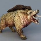 Yaban domuzu canavar