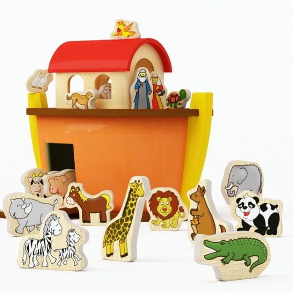 Wood Toy Zoo