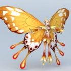 Keltainen perhonen keiju