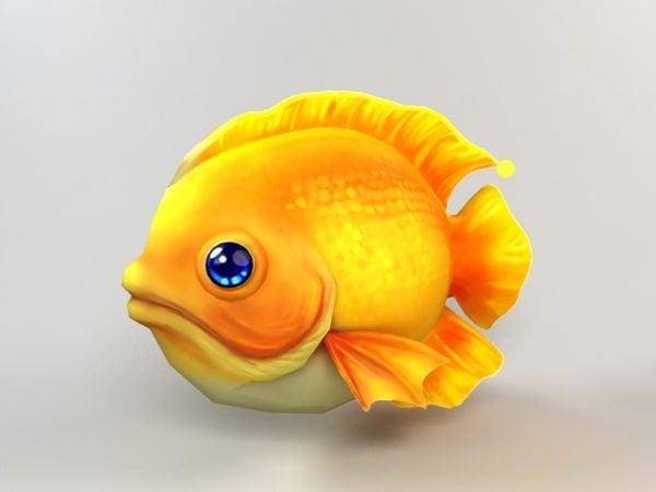 أسماك الكرتون الصفراء