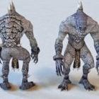 Zombie Monster Kreatur Charakter