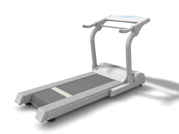 Máquina para hacer ejercicio en la máquina para correr