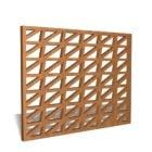 Conception de panneaux de treillis en bois