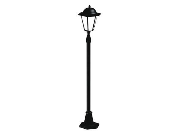 古い錬鉄の街灯