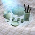 Antika kinesiska tesatser
