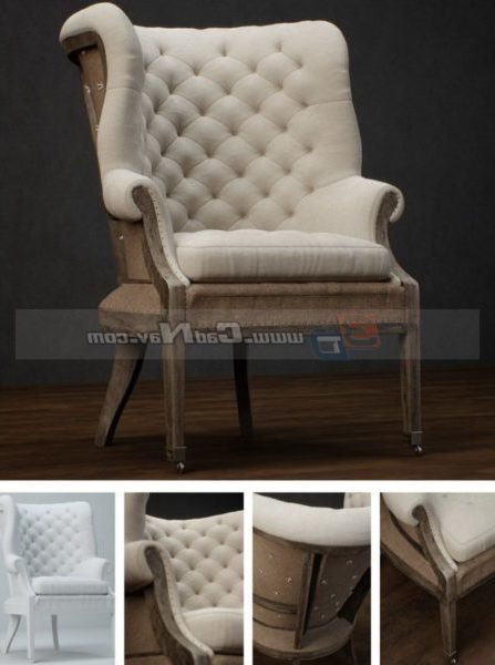 Antique Classic Furniture Home Sofa Chair
