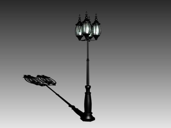 Antique Iron Street Lamp