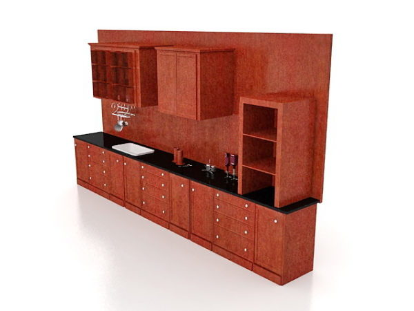 Kitchen Cabinets Free Model