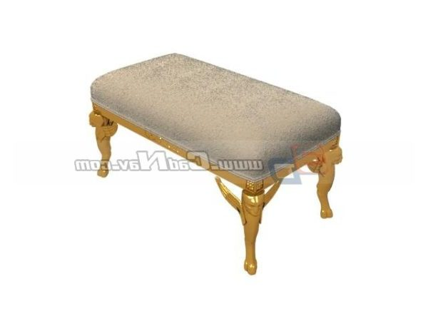 Antique Furniture Wooden Footstool