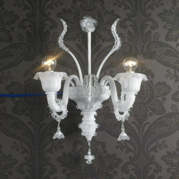 Home Art Deco Crystal Wall Sconces