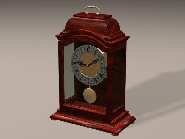 Sala de estar Art Deco Mantel Clock
