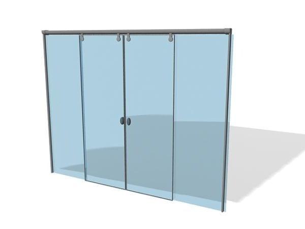 Muebles de puertas correderas automáticas
